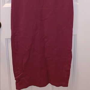 Forever 21 Dresses - Maroon Body Con dress